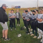 MARKING A MILESTONE Ladycats softball coach Steve Larson picked up win #200 in his career with the Warsaw softball program when his squad defeated the Cole Camp Lady Bluebirds, 7-0.  Larson has spent 2 different stints with the Ladycats and will hang up his turf shoes and retire at the end of the 2021 season.