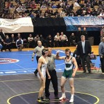 MARKING A MILESTONE, Warsaw's Kolby Estes took first place in the State Championship competition.