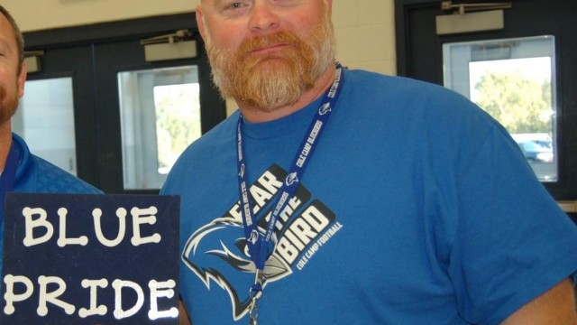 COACH KEVIN SHEARER of Cole Camp is a well respected member of his community and is diligently preparing his athletes for the upcoming athletic seasons.