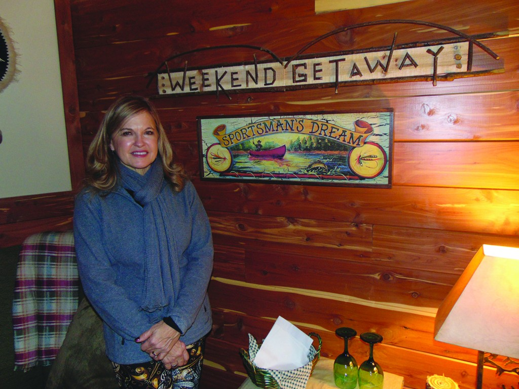 AN AIRBNB HOSTESS,  Warsaw resident Cheryl Grove has welcomed guests from around the globe to her home in Blue Branch. The landmark home was built by the late Ronald and Janice Gatliff and has long been known as the Gatliff Castle.