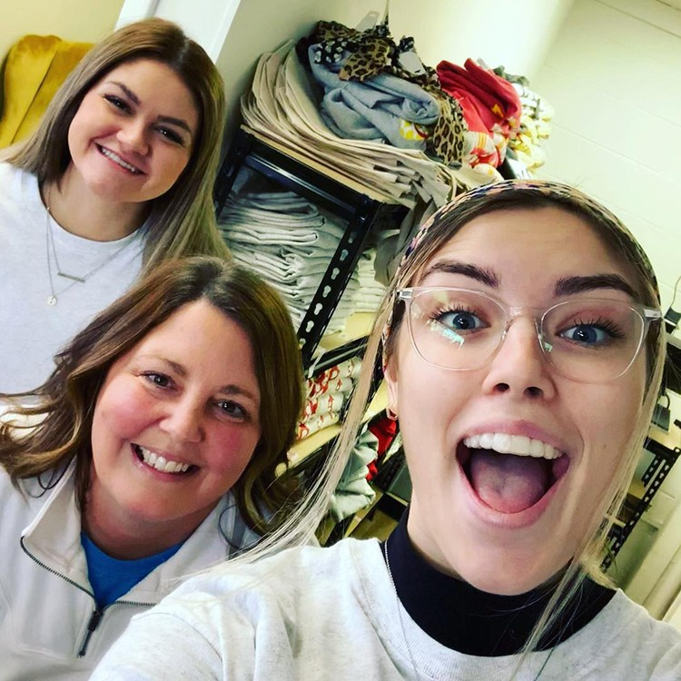 A MIXED BAG is how some merchants described the start of holiday shopping in Benton County. Ally Wenberg, Amy Spunaugle and Chloe Reese perused shops on Warsaw's Main Street Friday morning.