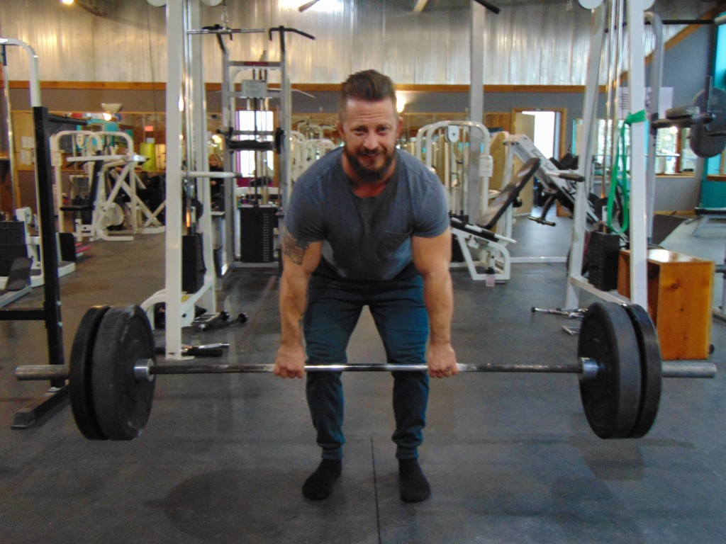IN TRAINING for a competition a continent away, Brian Phillips will compete in the American Powerlifting Association World Championship in Lutsk, Ukraine from May 16 to May 19.
