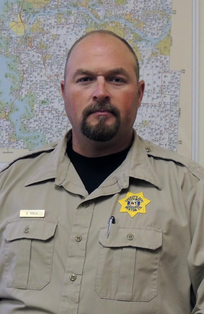 Eric Knox Benton County Sheriff