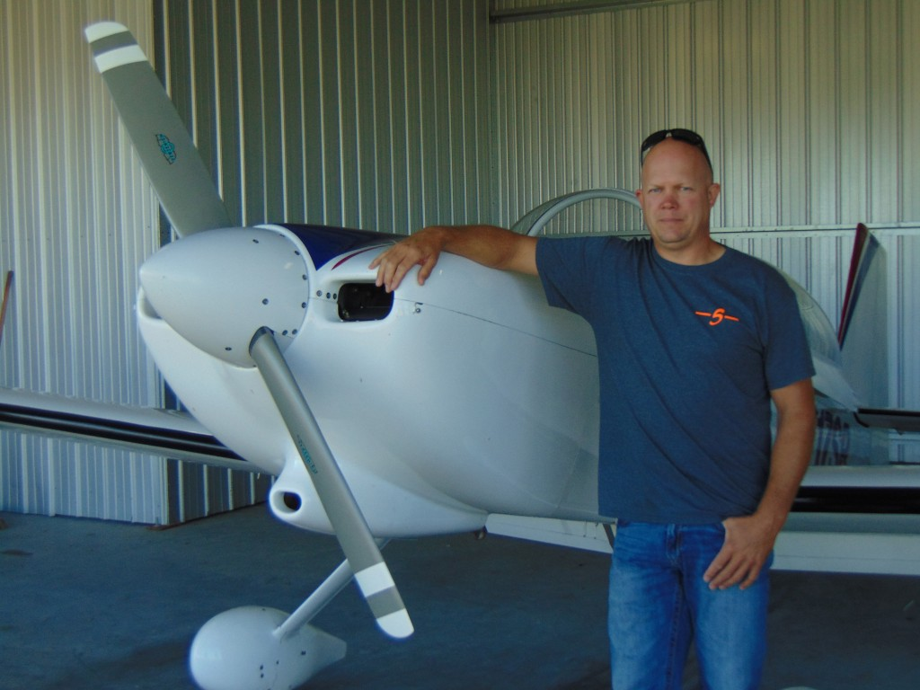 FUELED BY EVER INCREASING BUSINESS, the Warsaw Municipal Airport is set for expansion after city officials approved a major expansion. James Stopeel is one of the many pilots who utilize hangar space at the airport.