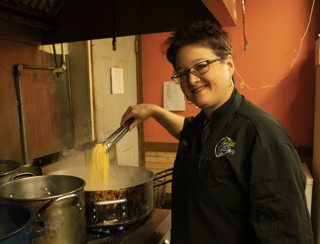 """""""A BIG HELP"""" is how Nee Nee's Italian Steakhouse proprietor Genia Redfern described receiving funds through the CARES Act."""