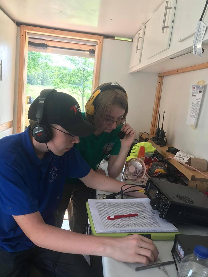 A UNIQUE WAY TO COMMUNICATE, amateur radio can operate even with the power grid offline through the use of generators or solar power. Operators including Alex and Renee Cason are a powerful line of help in case of a natural disaster or emergency.