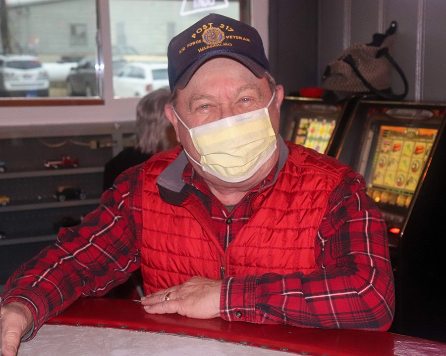 DON'T PANIC, BUT BE PREPARED is the consensus of most health officials as the coronavirus has begun to slowly spread in the United States. Well known Warsaw resident C.A. Robb told the Enterprise he's been using a mask when in public spaces.