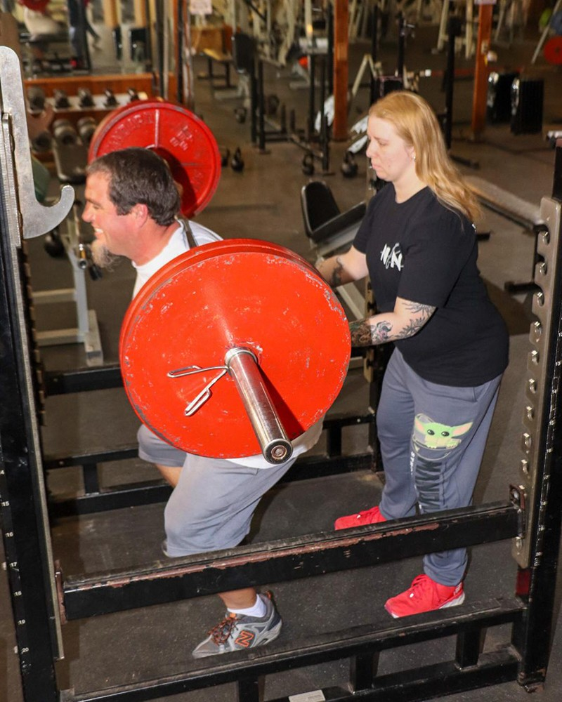 """COVID-19 HAS TAKEN A TOLL on physical well-being and highlighted mental health challenges for many who have been isolated for months. Integrated Fitness owner Randy Postel and Warsaw Fitness manager Heather Cline both work hard to give folks a clean, safe place to work out and keep the """"Pandemic 15"""" away."""