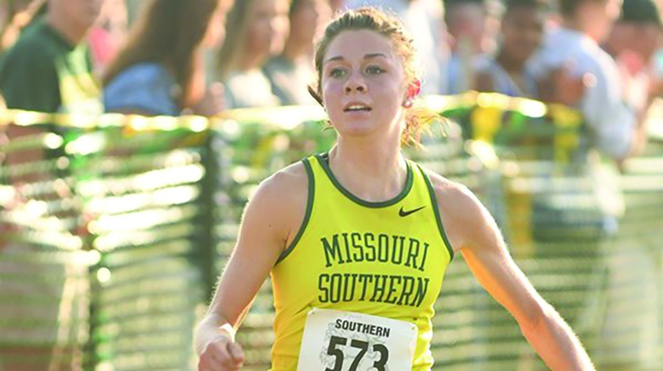 MISSOURI SOUTHERN'S ASHLEE KUYKENDALL claimed All-MIAA honors in Cross Country last week.The 2017 Warsaw graduate came in seventh at the MIAA Cross Country Championships held at Central Missouri.