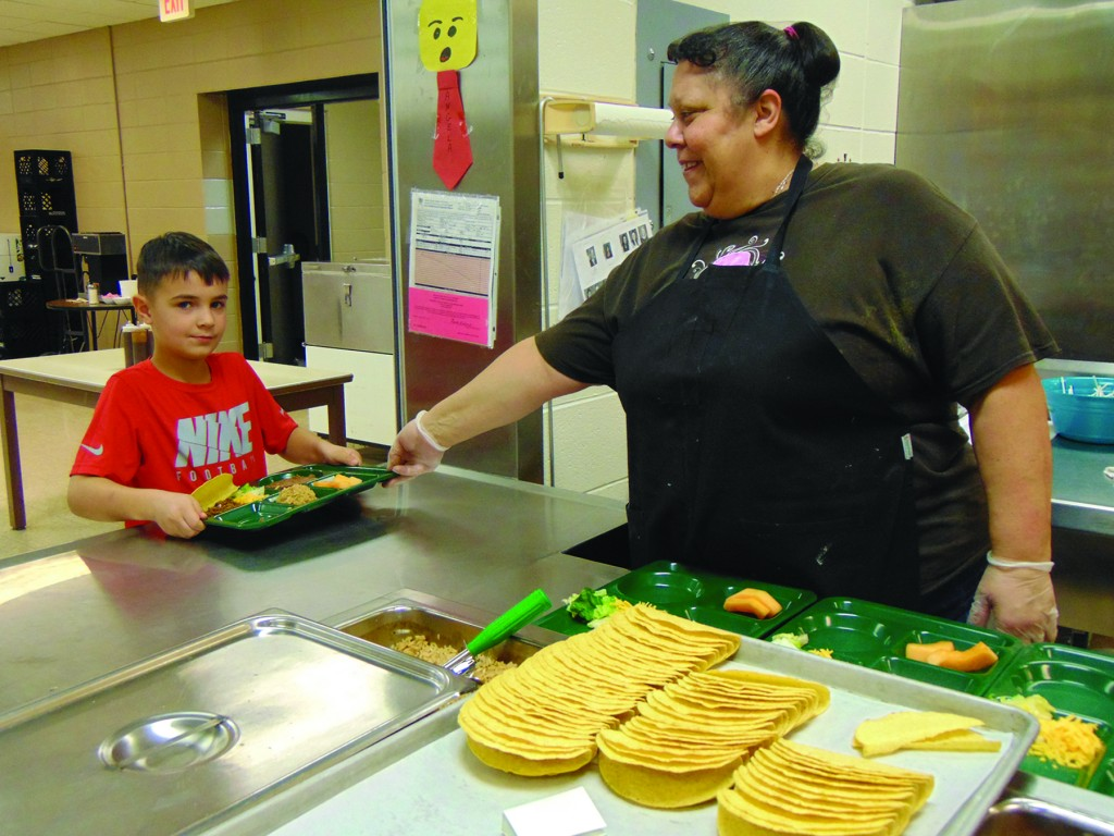 A RISING TREND across the nation, the 4 day school week is being adopted by many rural communities. The practice would be mean longer days and a shorter week for students and staff including R-IX North Elementary student Noah Kern and school cook Angela Lomax.