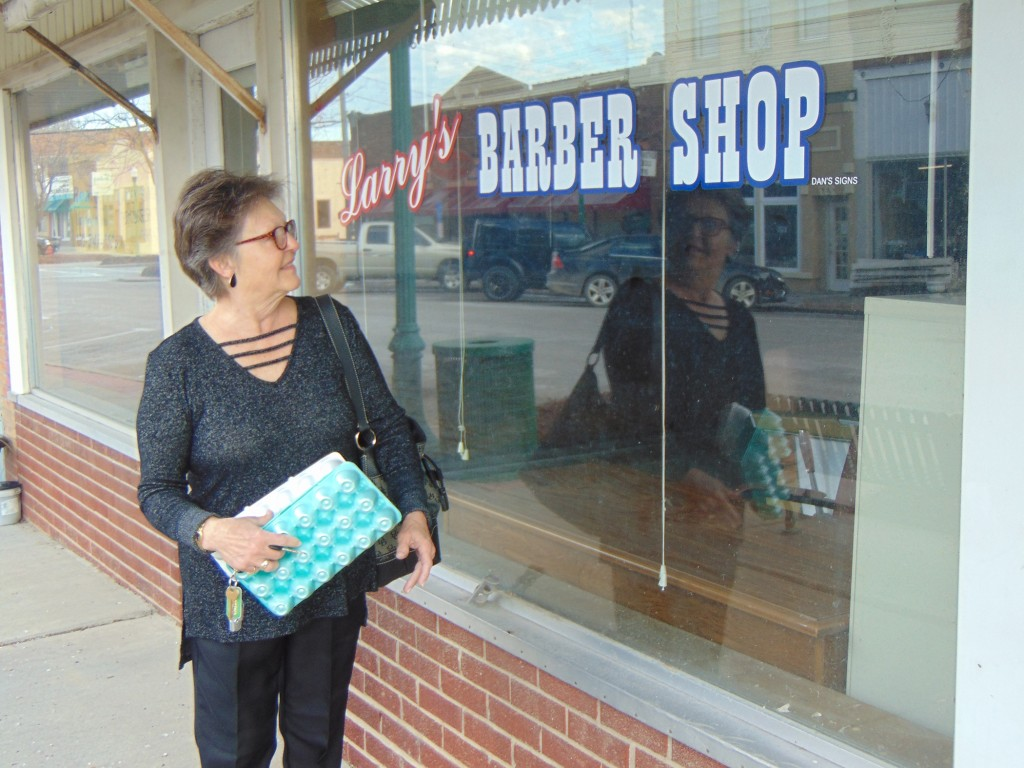 WARSAW'S MAIN STREET shopping district has seen many changes of the years, and as time go by, everyone from retailers to restaurateurs have moved in, moved out and moved about the iconic street. As development has moved towards the city's Northtown area, several Main Street storefronts remain vacant. Rebecca Burkhart walked by the former Larry's Barbershop on her way to work Tuesday morning. The property is currently listed for sale.