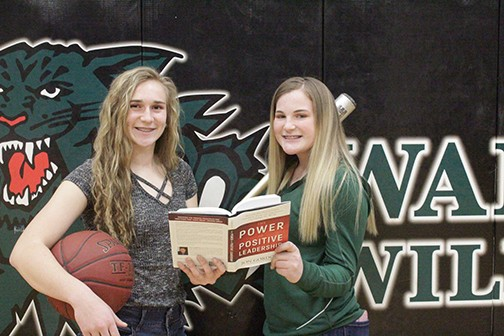 AUBRIE MCROBERTS AND REAGAN SHELBY were recently named Academic All-State  for softball. They represent many student athletes at Warsaw High School who excel in both the classroom and in the arena of high school athletics.