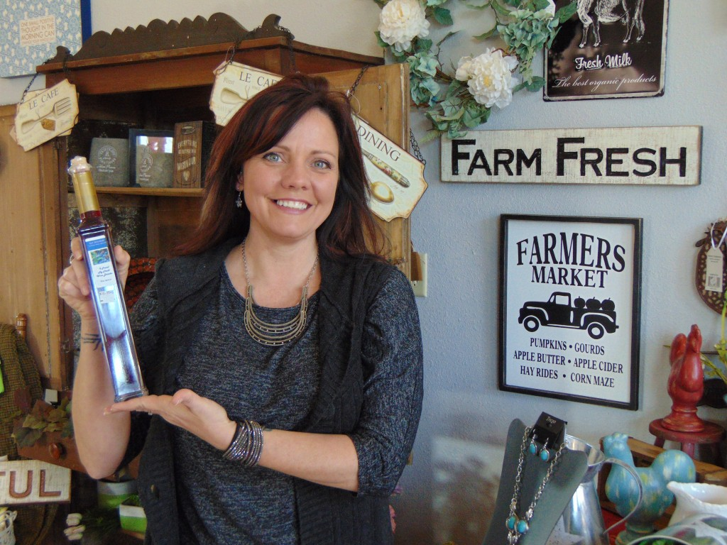 THE FIGURES DON'T LIE, purchases made locally make our community a better place to live and are a key driver in job creation. Melissa Miller at the Landing says the company strives to use local and Missouri made products.