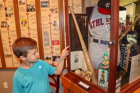 FASCINATING NEW EXHIBITS are on display at the Benton County Museum in Warsaw highlighting the late Dr. Gus Salley and Lincoln's 150th anniversary. Breyer Hilburn recently toured the museum along with his fellow second grade classmates.