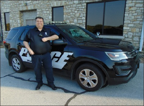 READY TO PROTECT AND SERVE, Sean McCannon became Police Chief for the City of Warsaw on October 2.