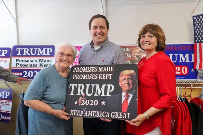 ELECTION SEASON is heating up around the country. Locally, the Benton County Republican Headquarters celebrated their grand opening on Saturday. A host of prominent citizens and politicians were on hand including Martha Foster, Missouri Secretary of State Jay Ashcroft and Peggy Crabtree Berry.