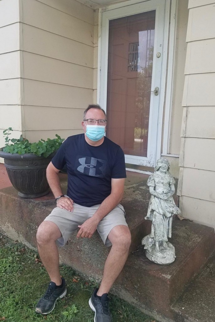 """""""I WAS STUNNED,"""" said Benton County Treasurer Rick Renno after learning he tested positive for Covid-19. Renno, who also operates Rick's Old Oar House, is currently self quarantining at his home."""