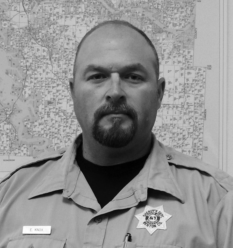 Benton County Sheriff Eric Knox