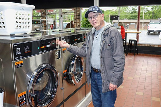 "FOLLOWING extensive renovations, the Warsaw Laundromat is up and running under the ownership of Charles and Kristal Sawyers.  James Jarrett utilized the new facility on Tuesday, telling the Enterprise, ""The remodel is quite a change. I like it!"""